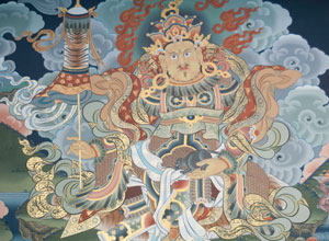 Thangkha painting
