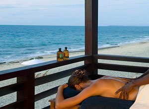 Enjoy a spa treatment at Anjajavy l'Hotel