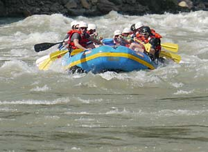 Rafting on the Trisuli River, Nepal