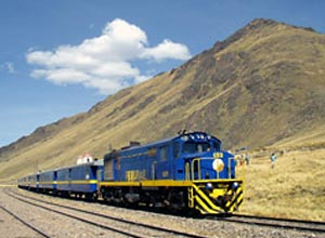Andean Explorer train