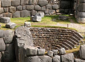 Inca ruins near Cusco