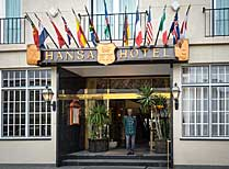 Hansa Hotel Entrance