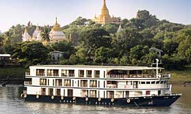 Cruise the Irrawaddy in style on Sanctuary Ananda