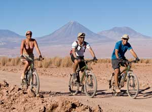 Bike ride at Tierra Atacama