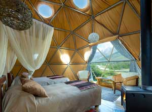 EcoCamp dome suite