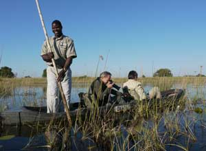 Mokoro rides in the Okavango Delta