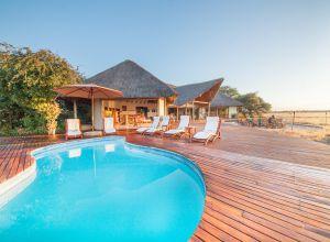 Nxai Pan camp, Botswana