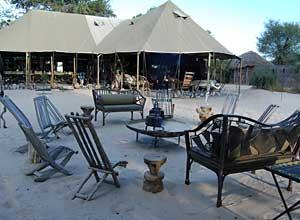 Meno a Kwena camp, Botswana