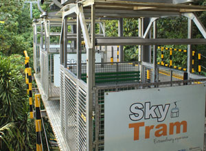 The sky tram at Arenal