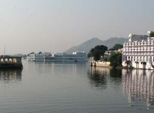 Udaipur and lake palace