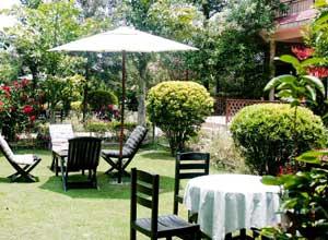 Parkland Lodge garden