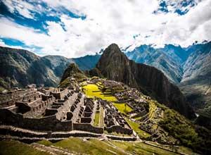 The end of the Inca Trail, Machu Picchu