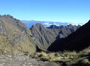 The Inca Trail pathways