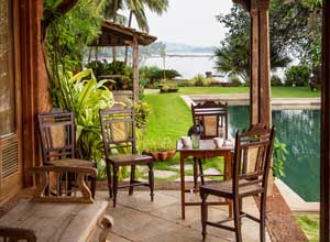 Breakfast at Ahilya by the Sea