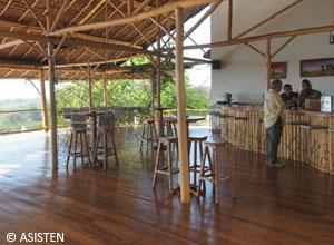 The bar at Soleil des Tsingy