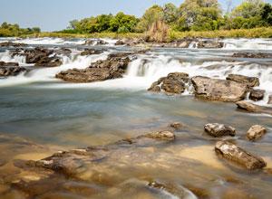 Popa Falls in Namibia