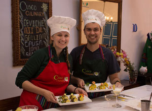 Cooking class in Cusco