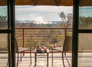 Ilala Lodge balcony view