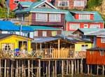 Stilt houses on Chiloe Island